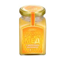 Алтайский мёд с маточным молочком, 330г