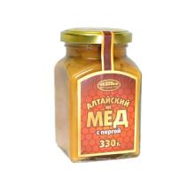 Алтайский мёд с пергой, 330г