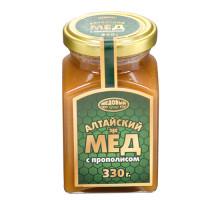 Алтайский мёд с прополисом, 330г